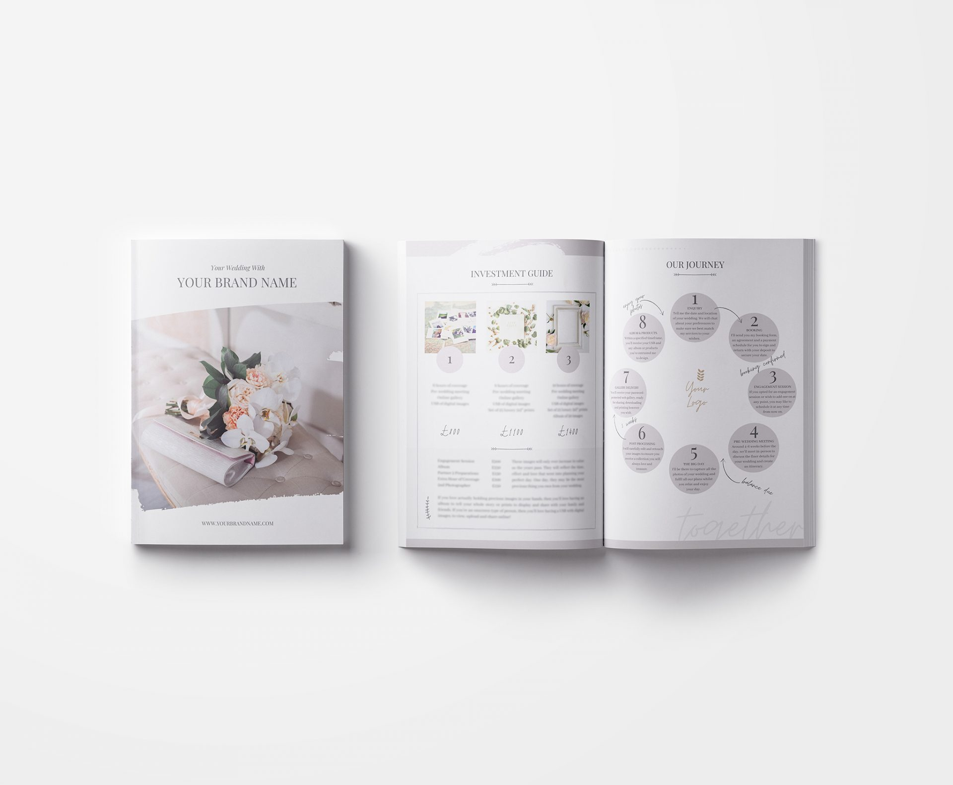 Wedding Photography Welcome Guide Canva Template